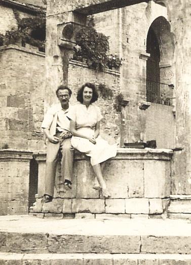 Harold and Rose San Giminiano 1946 400